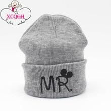 XCQGH Warm Kids Baby Winter Hats for Kids Children Knitted Baby Boy Cap Kids Baby Girls Hat Casquette Baby Bonnet Wholesale
