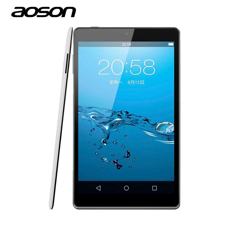 Ultra-delgado 8 pulgadas tablet aoson lollipop m812 pc tablets ips pantalla 1G/1