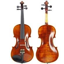цена на Performance Handmade Violin Technology Pattern 4/4 3/4 1/2 Adult Solid Wood Grading  violin TL004-2