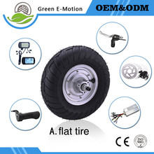 high speed powerful brushless 13inch electric wheel motor 24v 500w hub motor kit for elderly electric scooter