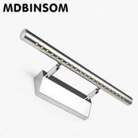 3W Bathroom LED Mirror Led Wall Lamp Light SMD5050 Mini Style Warm White LED Modern Wall