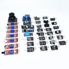 Сенсор комплект 37 в 1 Сенсор комплект/rrgb/джойстик/светочувствительная/звук обнаружения/препятствием избегание/ зуммер