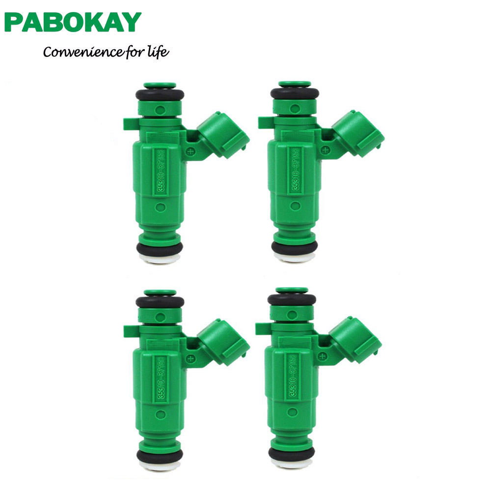 4 pieces x 06-11 for Kia Rio Rio5 1.6L Fuel Injector 35310-37150 3531037150 ...