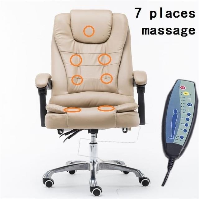 Fauteuil Sedia Ufficio Sillones Armchair Oficina Ordenador Sedie Leather Poltrona Silla Gaming Computer Massage Office Chair