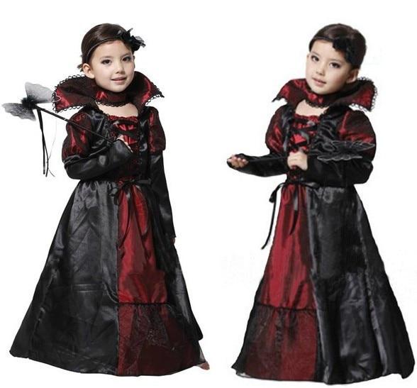 Children Girls Princess Vampire Costumes Children\'s Day Halloween ...