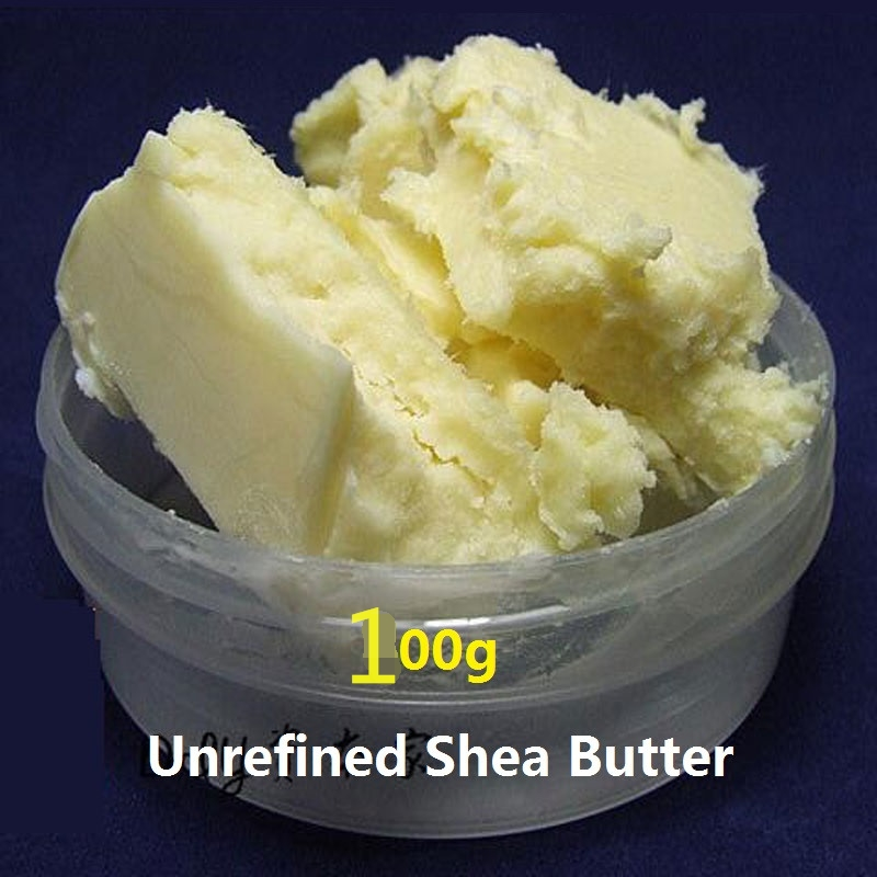 100g natural Unrefined Shea Butter 2016 Hot Pure Organic Essential Oils Cream Lip Balm Moisturizing Skin Care Shea Butter YangXi cantu shea butter tea tree