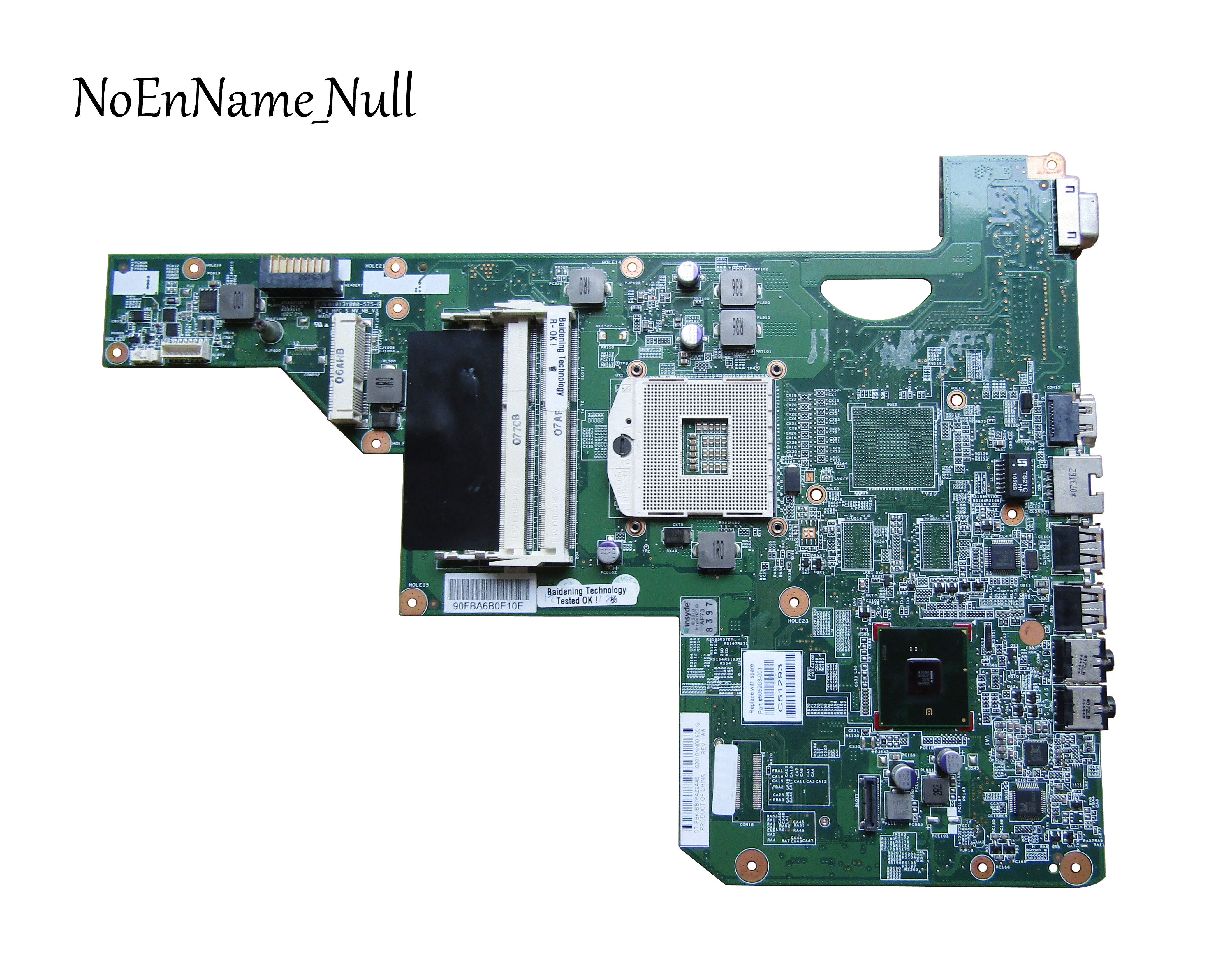 605903-001 Board For HP G62 CQ62 G72 Laptop Motherboard With Hm55 Chipset Free Shipping