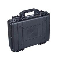 Hot Sale Black Plastic Handle Tool Box