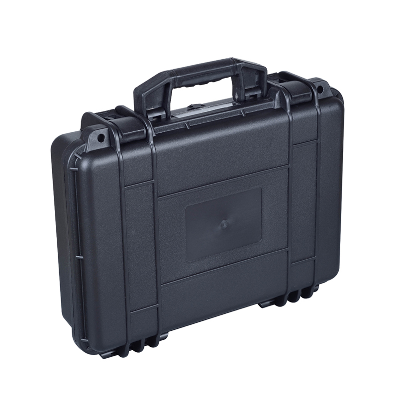 black color high impact water resistance plastic case with pick pluck foam