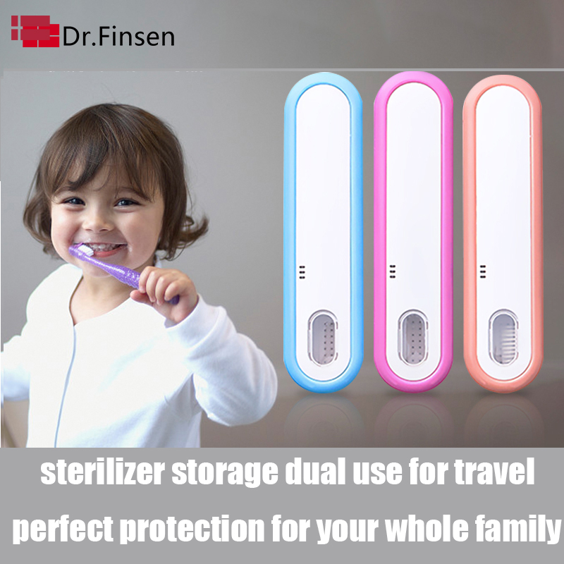 Portable Travel Ultraviolet Toothbrush Sterilizer Home UV Ordinary Electric Toothbrush Storage Box Clean Sterilization Holder
