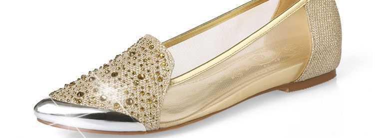 ФОТО Sapatos Feminino 2015 New Women Mesh Pointed Toe Flat Shoes Fashion Rhinestone Shoes Summer Sexy Style Women Shoes Flats H3814
