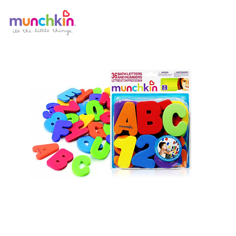 Aliexpress.com : Buy Munchkin bath toys Letters and Numbers Kids ...