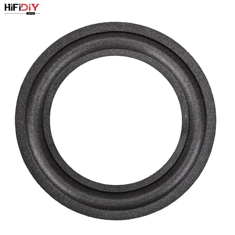 HIFIDIY LIVE 2-12 дюймов НЧ-динамик запчасти для ремонта динамика аксессуары поролоновая кромка складное кольцо сабвуфер (50 ~ 290 мм) 3 3,5 4 5 6,5 8 10