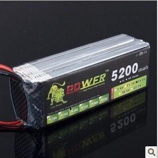 Lion Power 14.8V 5200MAH 30C max 35CLiPo RC Battery For Airplane mos rc airplane lipo battery 3s 11 1v 5200mah 40c for quadrotor rc boat rc car