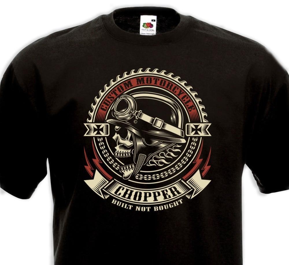 Motorcycle club t shirt garage chooper s-3xl