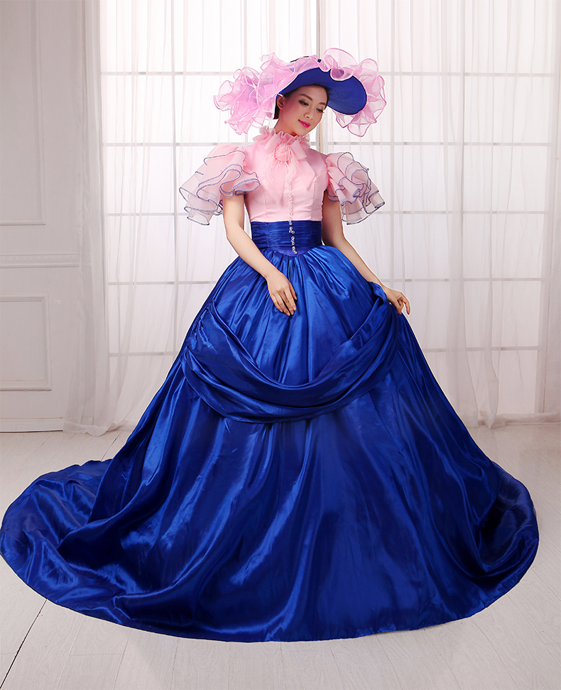 Plus Size Customized Costumes for Women Adult Southern Victorian Dress Ball  Gown Gothic Lolita Dress free shipping 8616dd6a2000