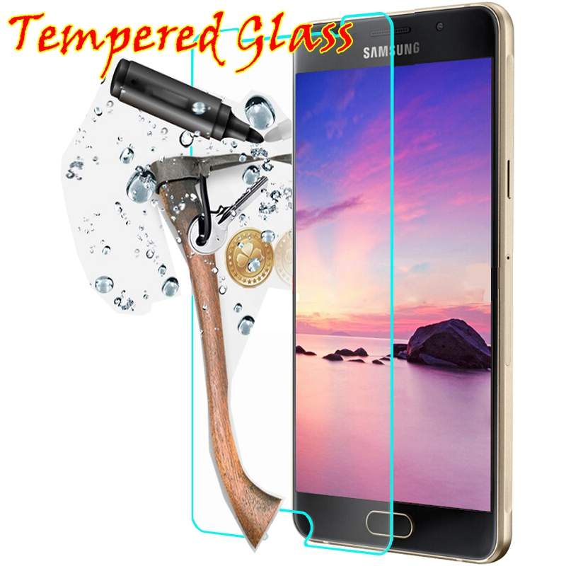 9h Tempered glass FOR Samsung A5 Galaxy grand prime A3 SM G530 G530H S2 S3 S4 S5 S6 GT i8552 G850F Screen Protector case 2016