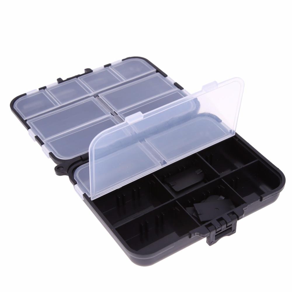 Angelsport Weich Schaum Plastik Lure Feder Haken Box Haken Receive Case Bag Angeln Gear Zubehör