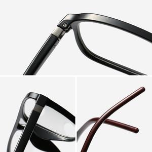 Image 5 - אנטי כחול אור מחשב משקפיים גברים מסגרת אופטית מרשם משקפיים מסגרת קוצר ראיה ברור תואר TR90 משקפיים מסגרת