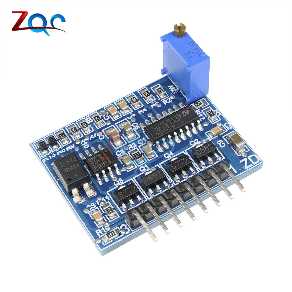 SG3525 LM358 Inverter Driver Board Mixer Preamp Drive Board 12V-24V ne555 drive board after the pole inverter mixer mixing board adjustable duty ratio and frequency of stroboscope