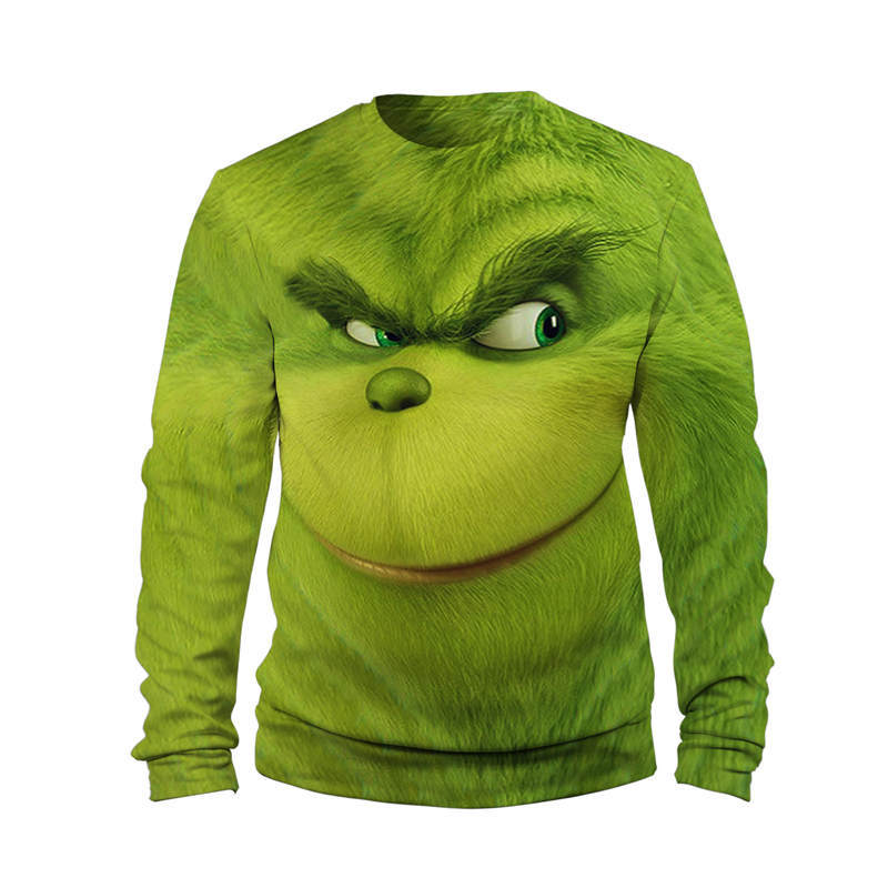 Grinch Full Face Hoodies 1
