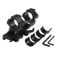 Quick Detach QD Mount 25mm 30mm Double Scope Rings Dual Ring Cantilever Scope Mount High Quality