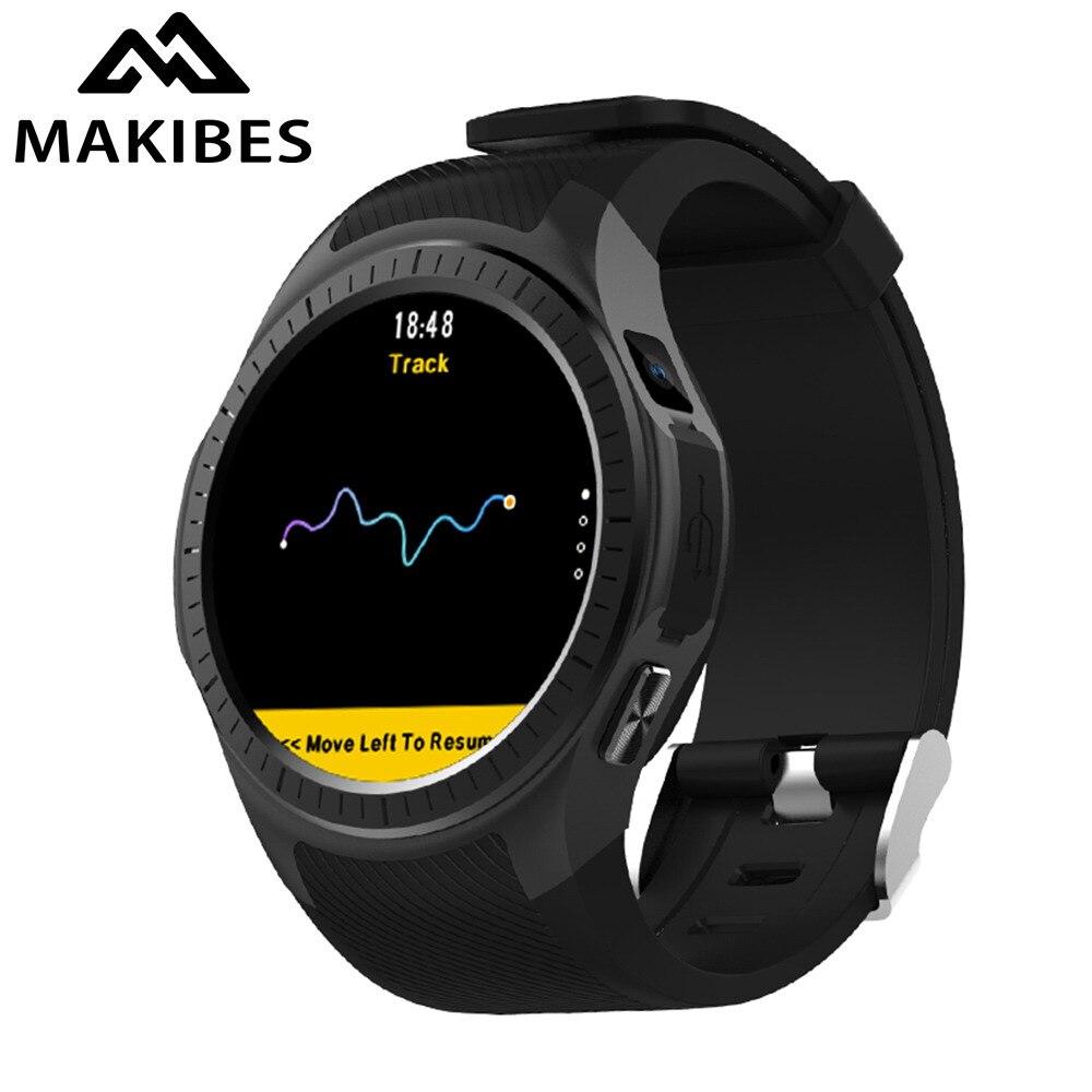 Новый Makibes G05 Pro gps спортивные часы Bluetooth Smart часы монитор сердечного ритма вызова сообщение напоминание музыкальный плеер нескольких видов с...