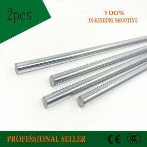 Image 3 - 2pcs 10mm 10x500 linear shaft 3d printer 10mm x 500mm Cylinder Liner Rail Linear Shaft axis cnc parts