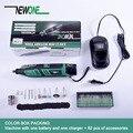 Newone 12 в домашний DIY портативный <font><b>Dremel</b></font> роторный инструмент литиевая батарея электрическая дрель с аксессуарами многофункциональные электроин...