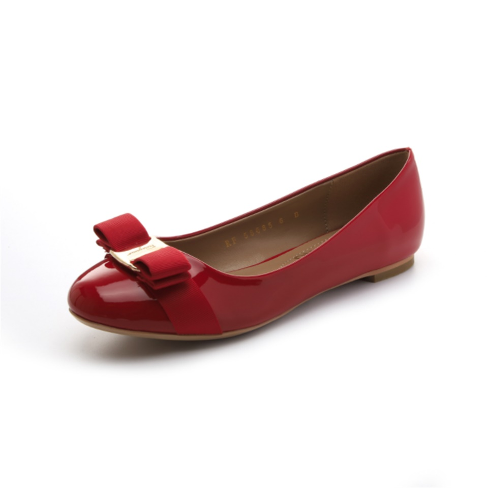 spring  autumn womens pumps high quality patent leather fabric comfortable inner round toe fashion shoes