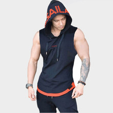 Men Summer bodybuilding stringer tank top gyms clothing golds body shark vest engineers fitness men muscle shirt tanktop