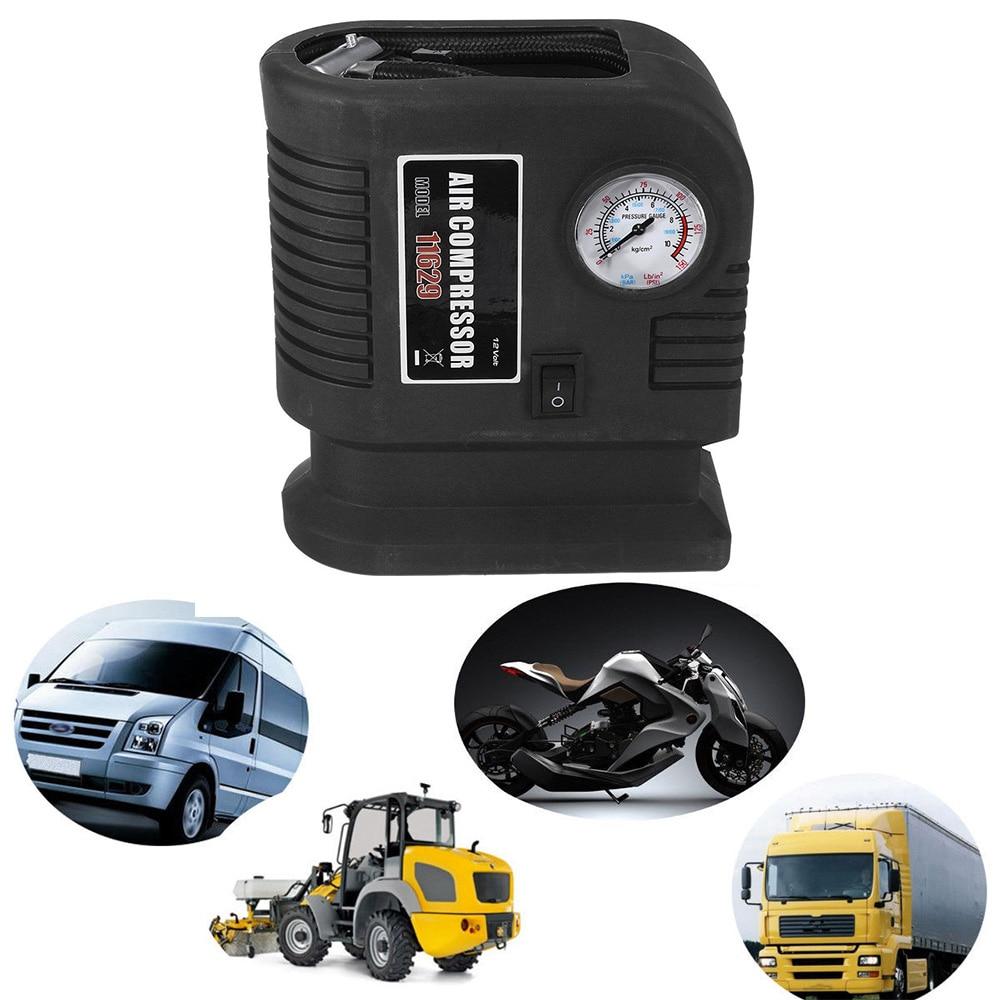 300PSI 12V Portable Mini Air Compressor Auto Car Electric Tire Air Inflator Pump