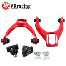Vr гонки-регулируемый (L & R) передний верхний Управление ARM развал комплект для Honda CIVIC EK 96-00 красный, синий vr9871