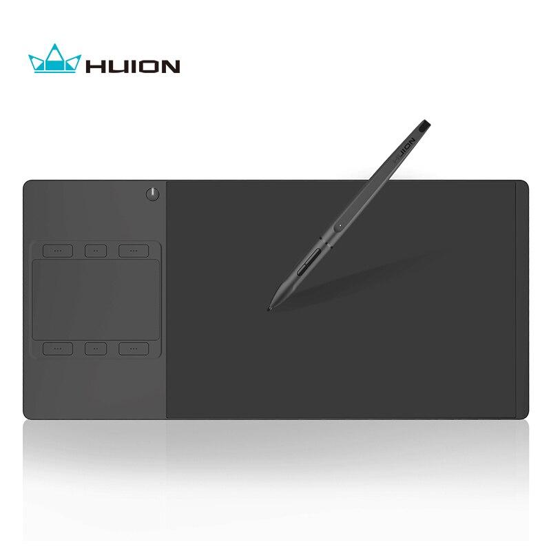 Huion G10T Wireless Grafica Disegno Tablet con il Tocco Delle Dita Funzione Digitale Professionale Penna di Tablet e Regalo Libero Guanto