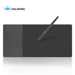 Huion G10T inalámbrico gráficos del dibujo de la tableta con el dedo la función táctil Digital profesional de la pluma y tabletas regalo guante