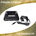 Baofeng UV-5R carregador dadpter para duas vias de rádio portátil vhf uhf dual band 136-174 e 400-520 MHZ baofeng uv 5 rWalkie Talkie