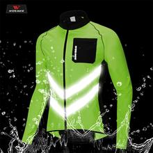 WOSAWE Motorcycle Jacket Chaqueta Moto Windbreakers Water-Repellent Reflective Mens Safety Motocross Mountain Bike Clothing