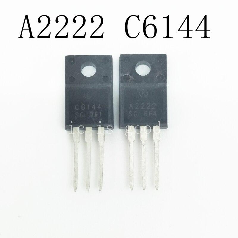 Free shipping 100pcs lot 2SA2222 2SC6144 50pcs A2222 50pcs C6144 IC Best quality