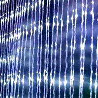 Alta Calidad Última Tecnología 400LED Flujo de Agua Cascada Luces de Hadas de Cuerdas Para la Fiesta de Navidad Decoración 2 M * 2 M