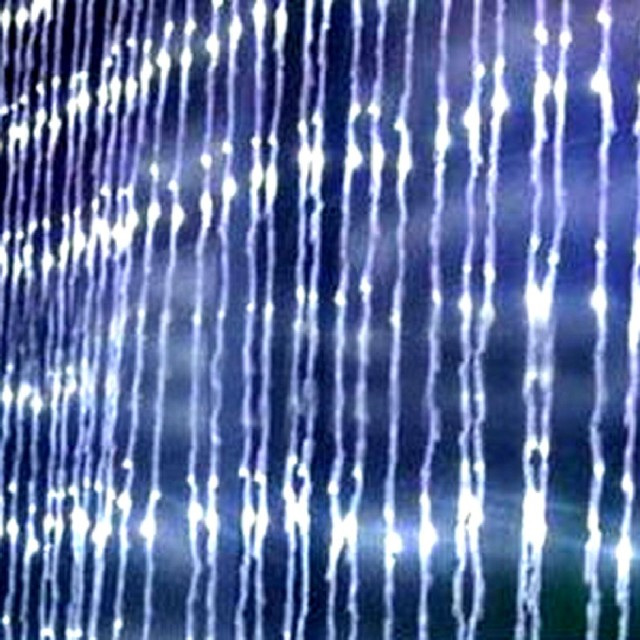High Quality Latest Technology  400LED Water Flow Waterfall String Fairy Lights For Xmas Party Decoration 2M*2M