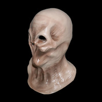 Hot sale Deluxe Costoms Horror Masks Monster Halloween head Latex Alien Mask