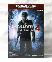New NECA Nathan Drake Classic Game Uncharted 4 A Thief's End Ultimate 7 Action Figure 18cm