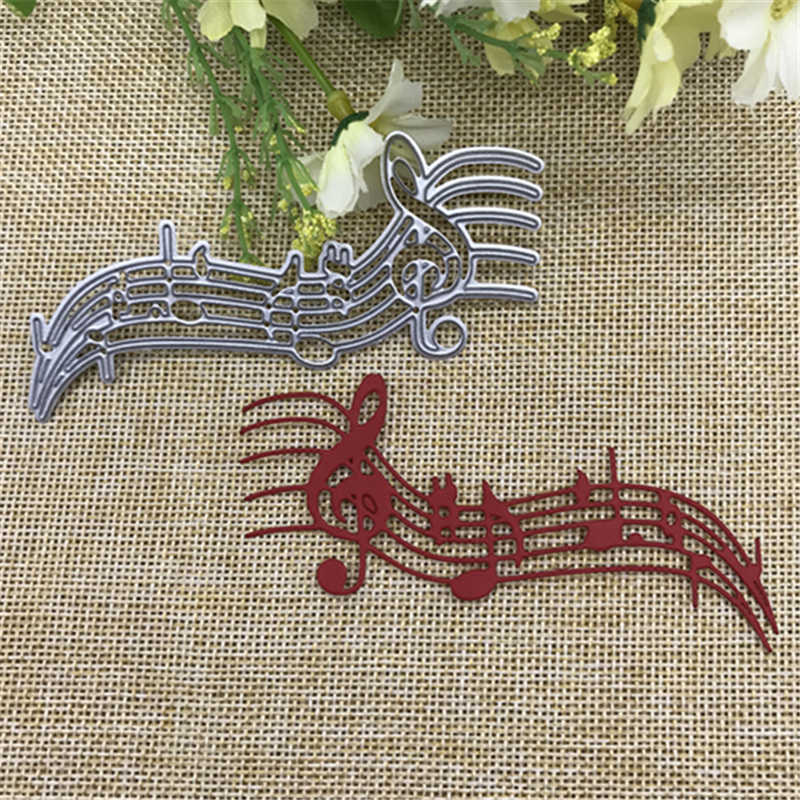 Note Metal Cutting Dies Stencil Scrapbooking Photo Album Card Paper Embossing Craft DIY