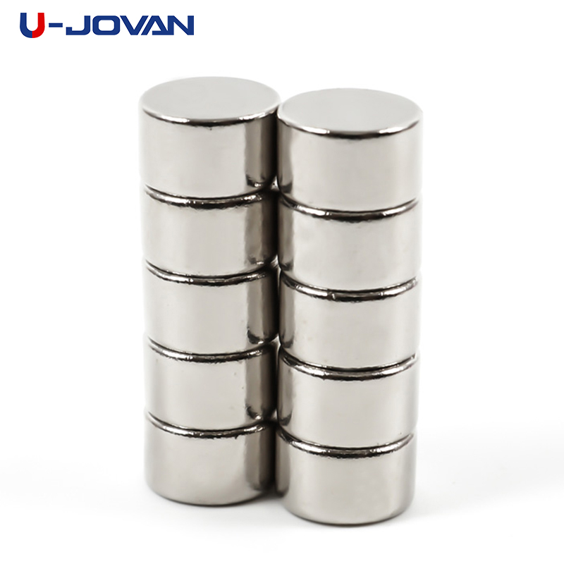 Able U-jovan 10pcs 10 X 6 Mm 10*6 Super Strong Circular Disc Neodymium Magnet Art Craft Connection Rare Earth Magnets For Sale