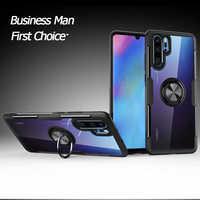 Pour Huawei P30 Lite Pro Mate 30 20 P20 Pro Nova 4e 4 5 5i Honor 20i V20 étui voiture support magnétique housse coque Anti-chute Funda