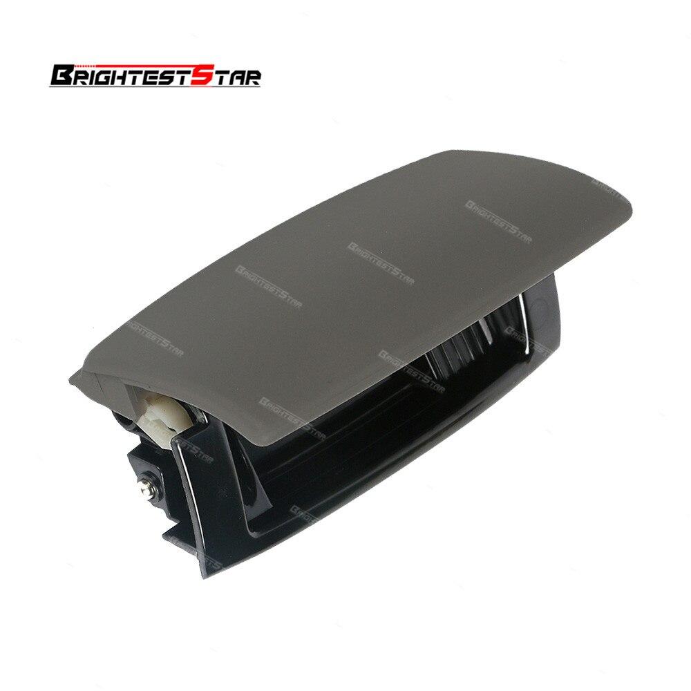 Black Grey Audi B6 B7 Rear Ashtray Tobacco Jar Cover Cap For Audi A4 B6 B7 2004 2005 For Seat Exeo 8E0857961M 8E0 857 961M