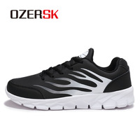 OZERSK Men S Retro Running Shoes Sports Light Breathable Shoes Men Sneaker For Outdoor Jogging Walking