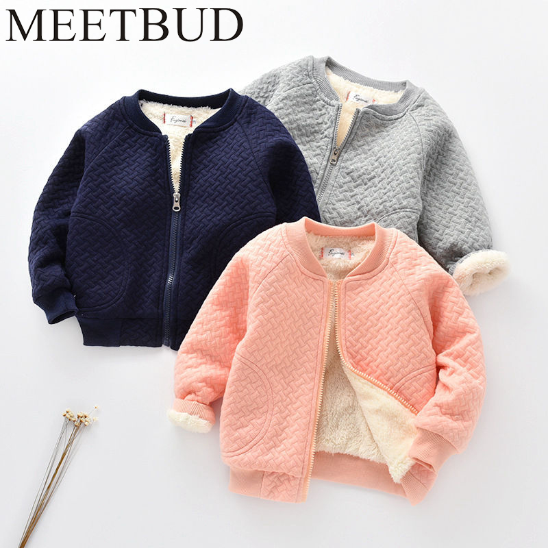 MEETBUD New arrival Autumn winter children clothing baby boys jacket fashion coat cotton outerwear boy kids long sleeves outwear meetbud new arrival winter autumn outwear children clothing baby girl jacket fashion fur coat casual cotton girls kids outerwear