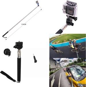 Image 5 - ערכת אביזרי GoPro Pro עבור SJCAM SJ4000 SJ5000 SJ7000 מצלמה פעולה אביזרי חבילת סט לגיבור 1 2 3 3 + 4 שיאו Mi יי