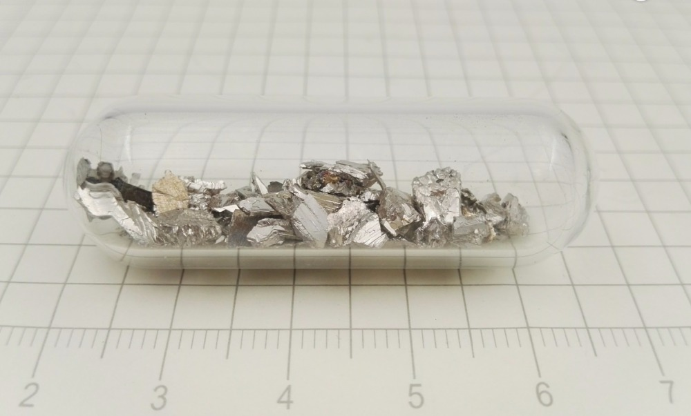 5 grams pure bismuth metal fragments 99.99% purity element sample Free Shipping! dysprosium metal 99 9% 5 grams 0 176 oz